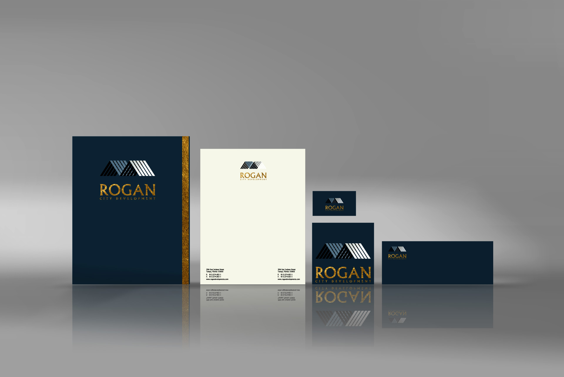 Real estate  Corporate identity designer