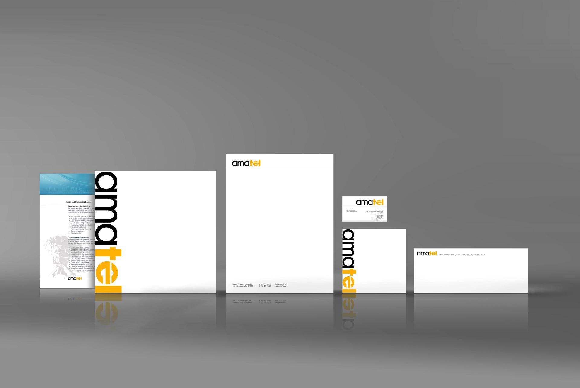 Communication Corporate identity designer