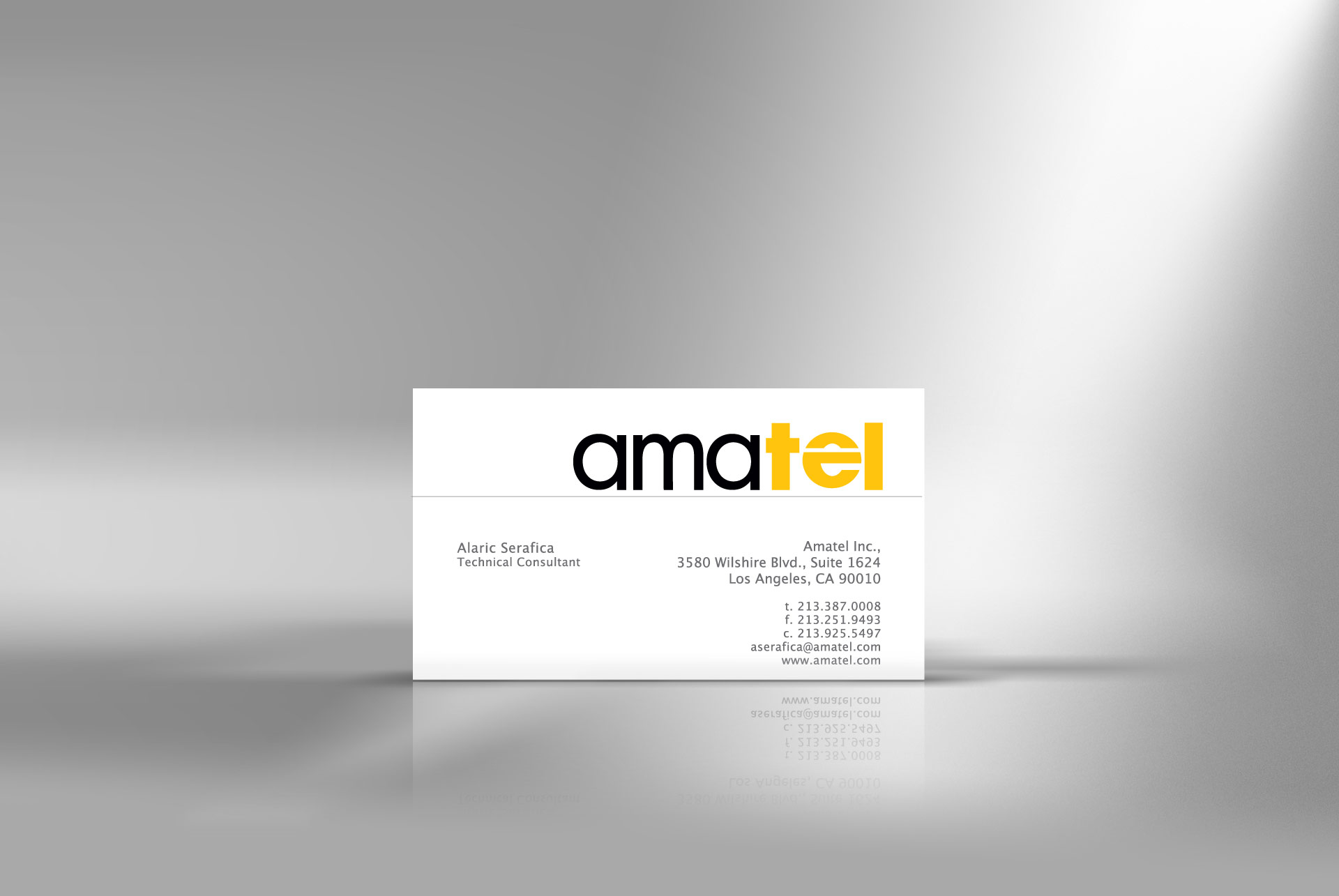 Comunication  business card