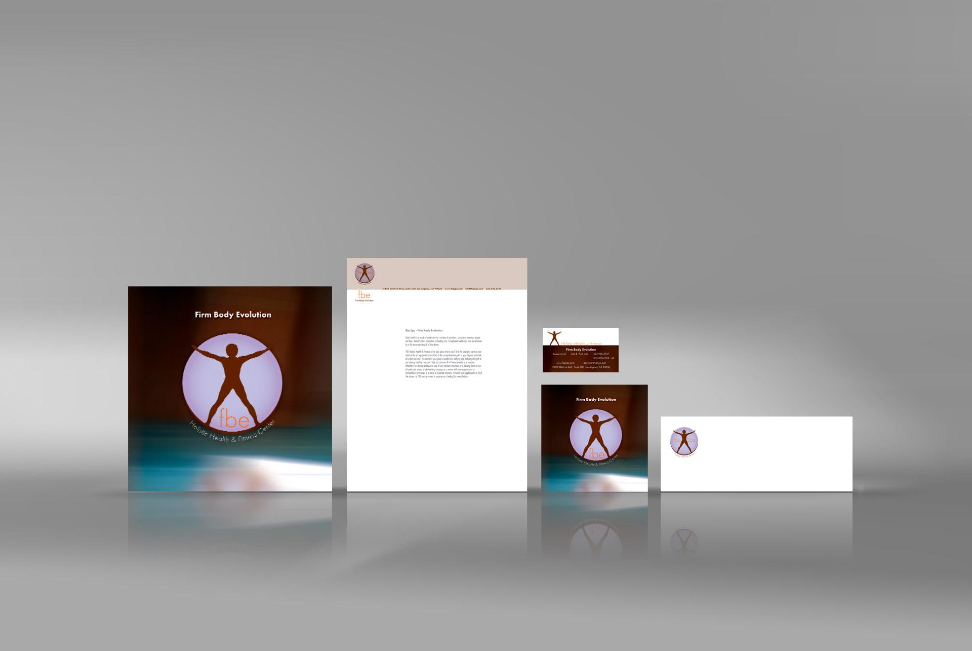 fitness Corporate identity designer