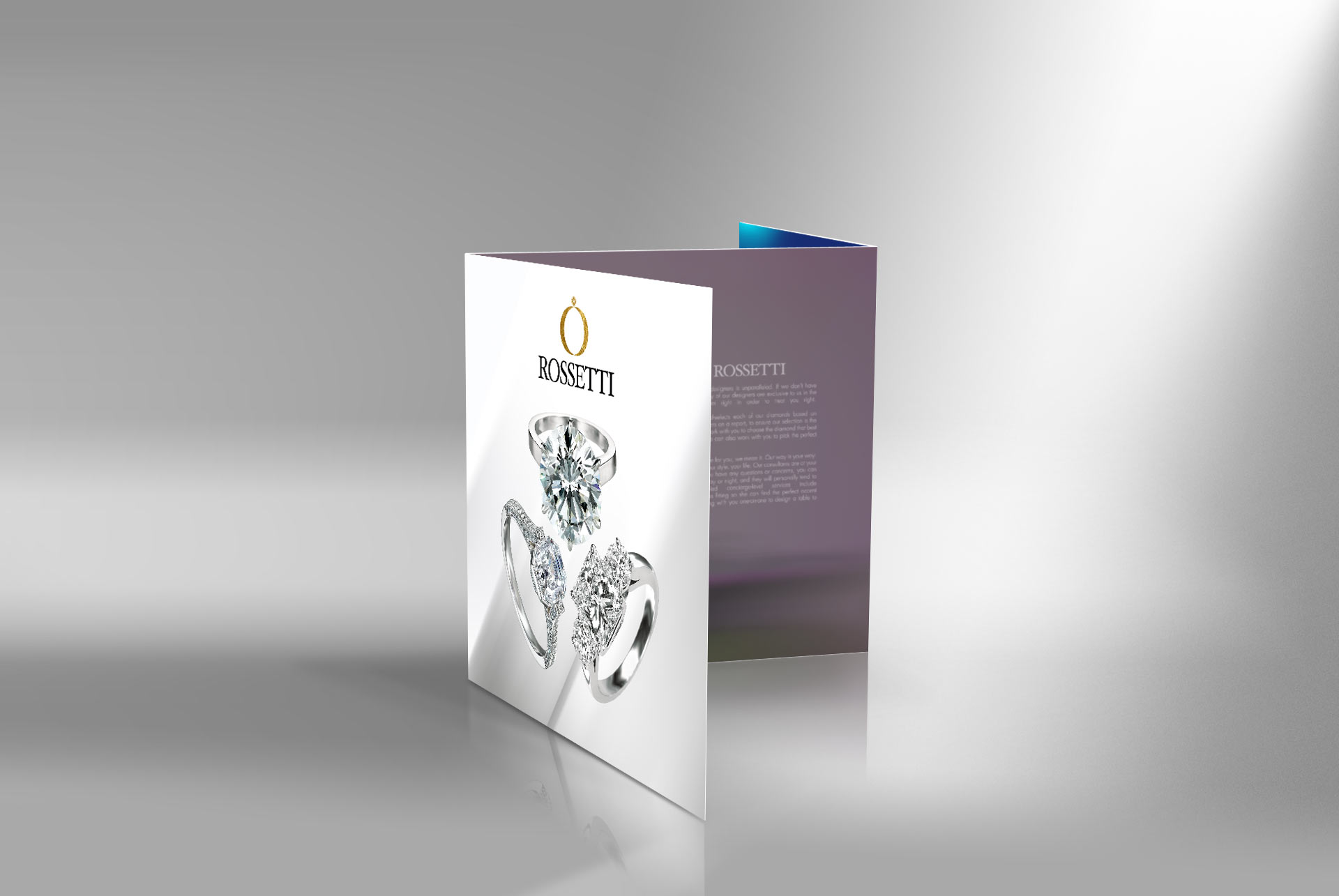 Jewelry  brochure designer