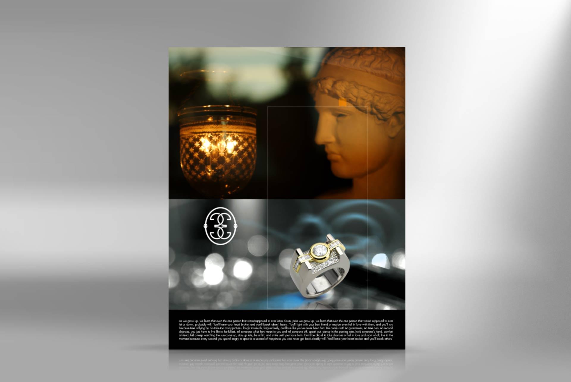 jewelry poster designer