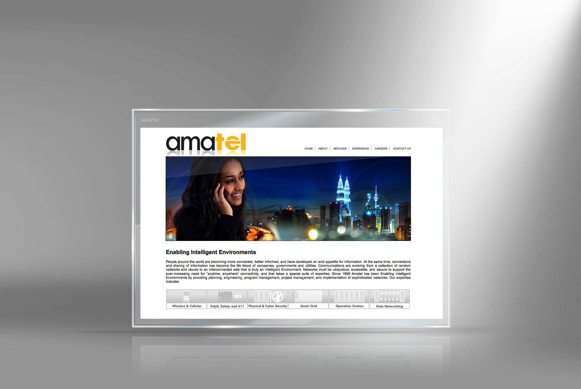 communication website designer